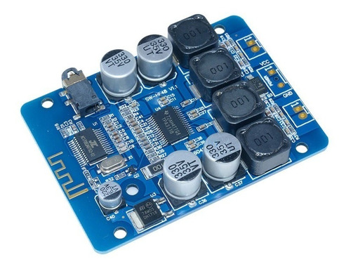 Placa Amplificador 30+30 Stereo 60w Bluetooth 30w + 30w Top