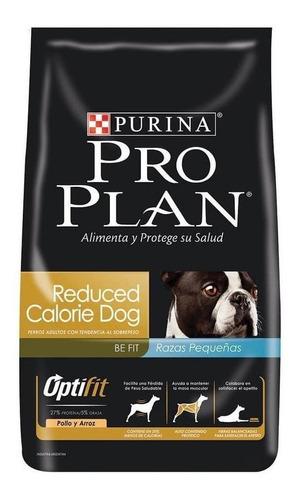 Ração Pro Plan OptiFit Reduced Calorie para cachorro adulto da raça  pequena sabor  frango/arroz em  saco de 1kg