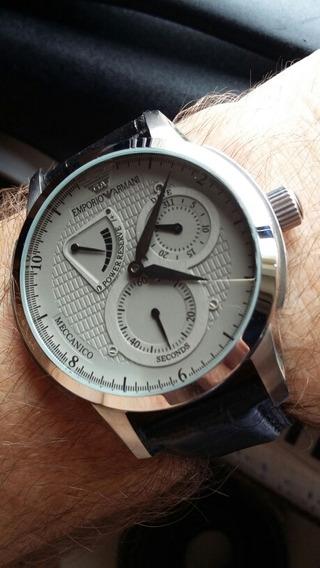 Relógio Emporio Armani - Automático - Modelo Meccanico