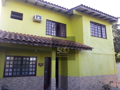 Imagem 1 de 23 de Casa Com 4 Dormitórios À Venda, 147 M² Por R$ 851.000,00 - Barra Do Aririú - Palhoça/sc - Ca0810