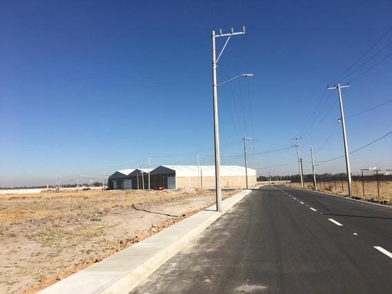 Terreno Industrial Cerca Del Nuevo Aeropuerto En Santa Lucía