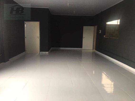 Galpão Para Alugar, 300 M² Por R$ 12.000/mês - Jardim Piratininga - Osasco/sp - Ga0054