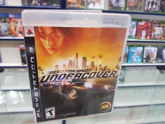 Need For Speed Undercover Usado Ps3 Mídia Física