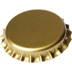 1.000 Und. Tampa Coroa Metálica Dourada - Cerveja Artesanal