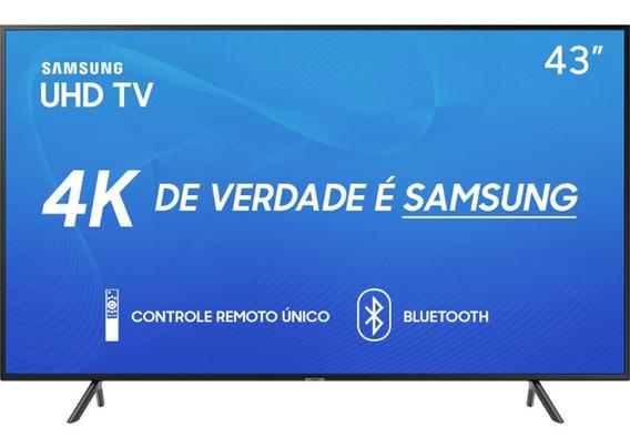 Smart Tv Led 43 Samsung 43ru7100 Ultra Hd 4k Frete Grátis