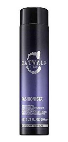 Tigi Catwalk Fashionista Shampoo Para Unisex, Violeta, 10.14