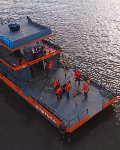 Imagem 1 de 6 de Barco Ferryboat