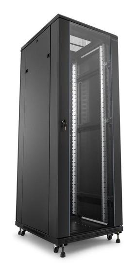 Rack De Piso 42us X 600mm X 600 Desmontavel Porta De Vidro