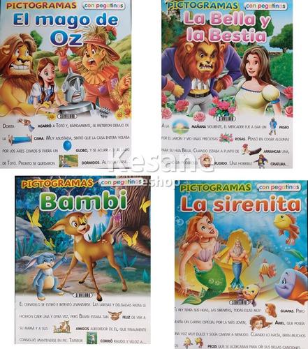 Imagen 1 de 9 de Paquete Libros Para Niños Interactivo Stickers Calcomanias