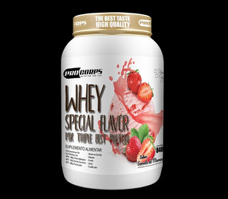 Top Whey 3w Flavor - A Mais Saborosa Do Brasil Comprove!!