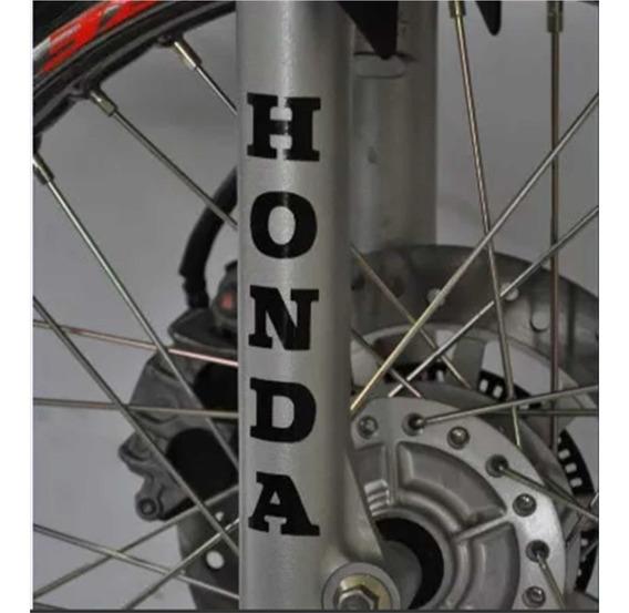 Adesivo Bengala Canela Vertical Tuning Moto Honda Bros 160