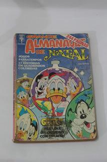 Hq Grande Almanaque De Natal N°2 Gibi Abril Wall Disney 1985