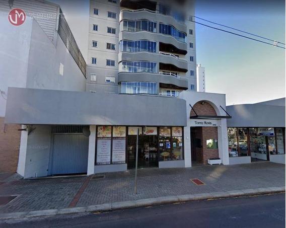 Apartamento Para Venda Com 3 Quartos No Centro Na Cidade De Cascavel-pr - Ap0241