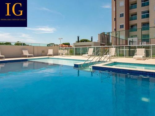 Apartamento 2 Dormitórios 1 Suite E 2 Vagas Determinadas E Varanda Gourmet - Myplace - 69183750
