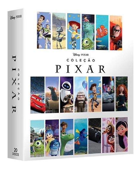 20 Filmes Coleção Pixar - Melhores Filmes De Animação Disney