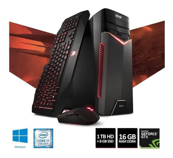 Pc Gamer Acer Aspire Gx-783-br13 I7-7700 1tb Hd 1060gtx
