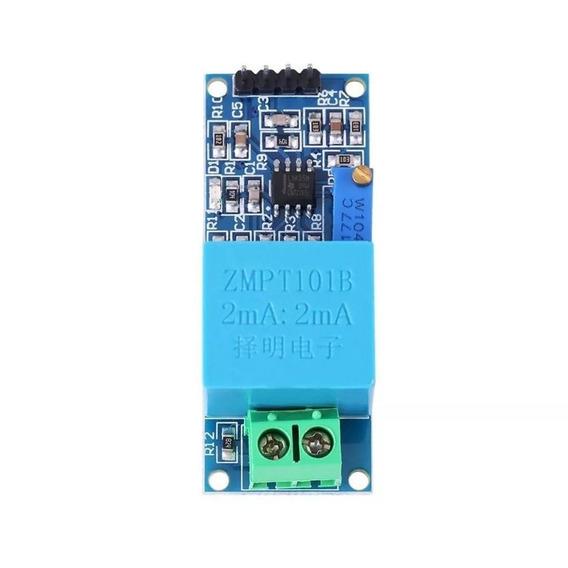 Sensor De Tensão Ac 0 A 250v Voltímetro Zmpt101b Sensores Módulo Arduino Pic Esp8266 Raspberry