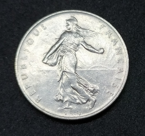 Francia - Moneda De 1 Franc - Año: 1968