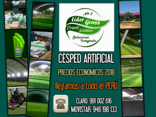 Venta, Instalación, Mantenimiento De Grass Sintético Em Perú