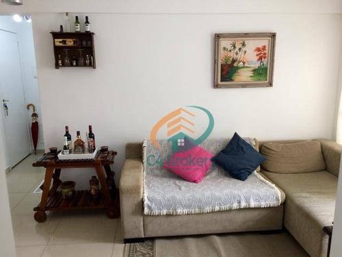 Imagem 1 de 15 de Apartamento À Venda, 53 M² Por R$ 295.000,00 - Ponte Grande - Guarulhos/sp - Ap1983