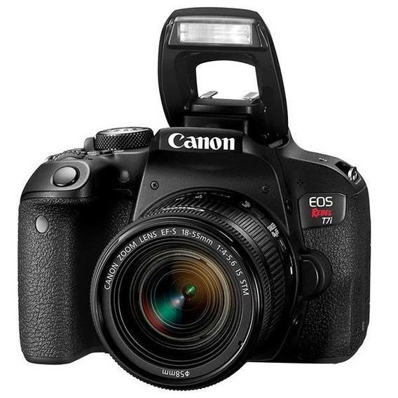 Canon Eos Rebel T7i Kit 18-55mm Is Stm
