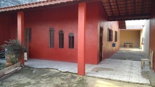 Casa A 100 M Da Praia Com Edícula Escritura. Analisa Ofertas