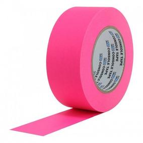 Fita De Papel Artist Tape Console 5cm X 50mt Rosa Fluor