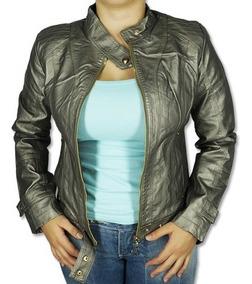 Jaquetas Blusas Femininas Couro Ecológico Fashion P M G Gg