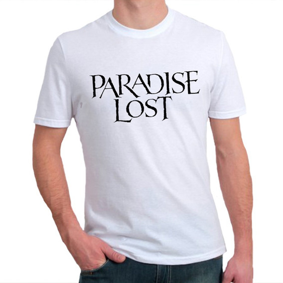 Camiseta Masculina Paradise Lost - 100% Algodão
