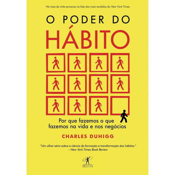 Livro - O Poder Do Habito - Charles Duhigg - Envio Rápido