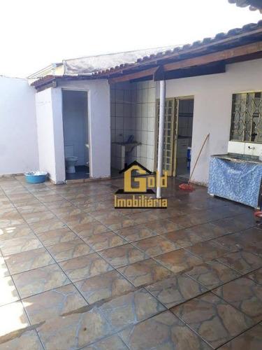 Casa Com 4 Dormitórios À Venda Por R$ 310.000 - Parque São Sebastião - Ribeirão Preto/sp - Ca0676