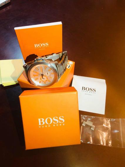 Reloj Hugo Boss Metálico Orange Usado