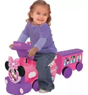 Minnie, Tren Correpasillo Minnie Incluye Rieles Sin Caja
