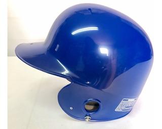 Casco Para Bateo Profesional De 2 Orejeras Azul Rey Softbol