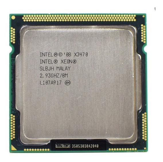 Xeon X3470 Stock 2.93ghz Turbo 3.6ghz = I7 870 Lga1156