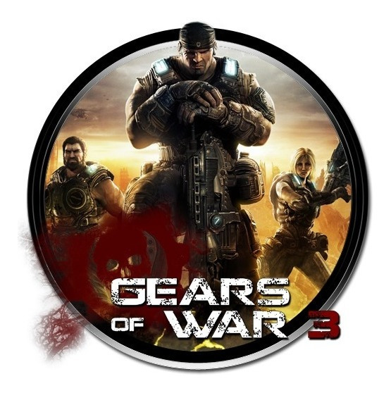 Jogo Gears Of War 3 Xbox 360 E Xbox One Mídia Física Usado