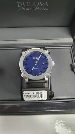 Relógio Bulova Automatico Accu-swiss 63b190 Percheron