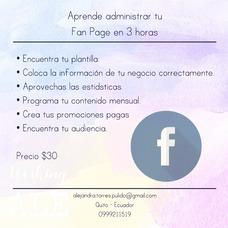 Apende A Manejar Tu Cuenta De Facebook Y Tu Página.