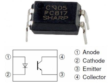 10 Ci Pc817 Optoacoplador Sharp Frete 8,50 Cod C12