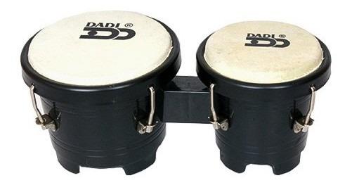 Mini Bongo Dadi 5 - 5.75 Plastico Negro