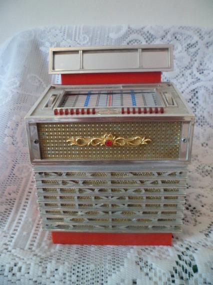 Antiguo Radio Am. Alhajero Estilo Rockolita Japan 70