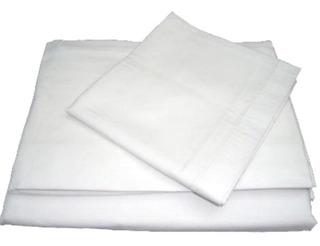 Sábanas Blancas Ecónomicas Individual Yamel
