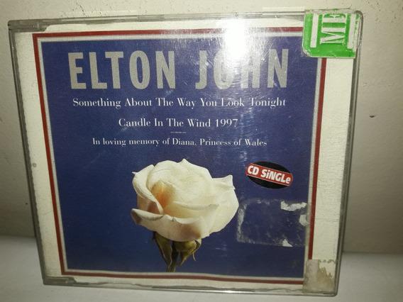 Cd Single Elton John 1987