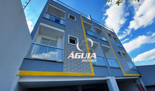 Cobertura Com Elevador - 03 Dormitórios À Venda, 70 M² + 70 M² Por R$ 522.000 - Vila Pires - Santo André/sp - Co0913