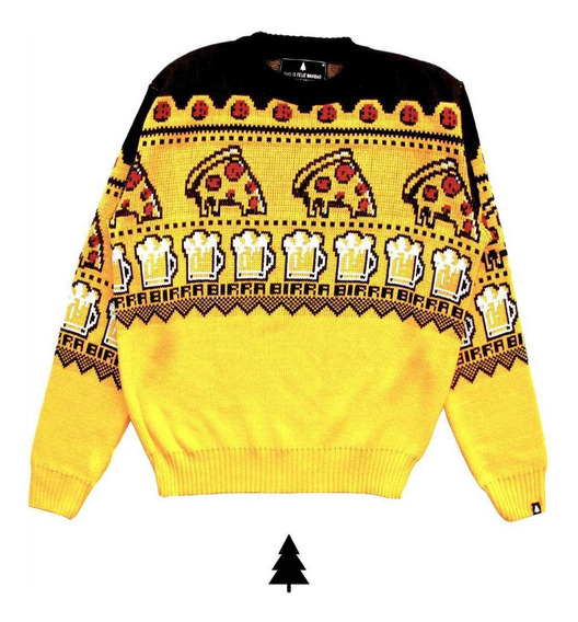 Pizza Birra Sweater Sin Genero This Is Feliz Navidad