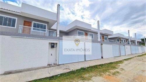 Casa Tipo Apartamento, Quintal Independente, Extensão Do Bosque/ Rio Das Ostras! - Ca1192