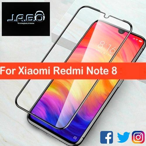 Mica Vidrio Con Borde / Xiaomi Redmi Note 8 Pro