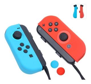 Nintendo Switch Joy Con Antideslizantes De Silicona