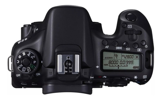 Camera Canon 70d (corpo)