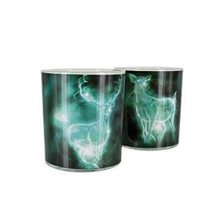 Vasos Cristal Harry Potter 2 Pack Patronum